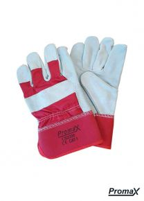 Single Palm Gloves - Red