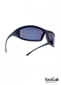 Bolle Solis SOLIFLASH Anti Scratch Blue Safety Glasses