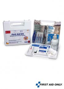 25 Persons First Aid Kit -Plastic Case