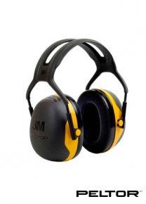 X2A Over the Head Earmuffs-Yellow