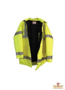 Winter Jacket - Fluorescent Yellow