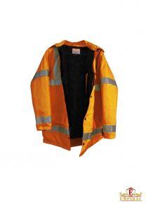 Winter Jacket - Fluorescent Orange