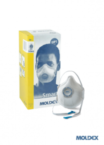 MOLDEX 2385 FFP1D Valved disposable dust mask with Activform