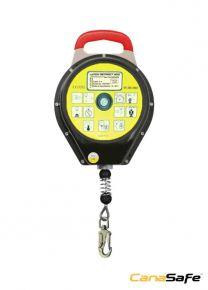LaTCH RETRACT 52010™  Retractable Fall Arrester Lifeline Metal Case - 10M