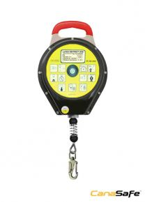 LaTCH RETRACT 52020™  Retractable Fall Arrester Lifeline Metal Case - 12M