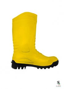 PVC Safety Boots - Yellow