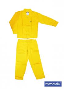 PC 65/35 190 GSM Twill Pants & Shirt - Yellow