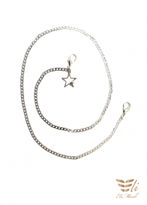 Face Mask Holder Chain Strap with Star Charm (Face Mask Not Included)