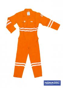 100% Cotton FR 320 GSM- Coverall - Orange