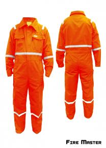 Fire Retardant Nomex III A -  Orange