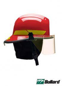 LTX SERIES FIRE HELMET - Red